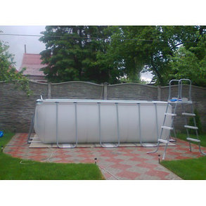 Каркасный бассейн Bestwey 56457 (412 х 201 х 122 см, на 8703 литра), фото 2