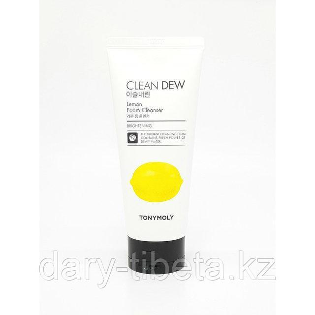 Tony Moly Clean Dew Lemon Foam Cleanser-Пенка с экстрактом лимона для очищения кожи лица