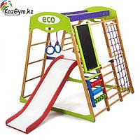 Детский спортивный комплекс для квартиры Карамелька Plus 3, фото 1