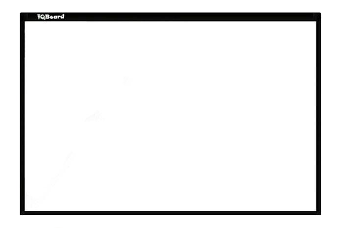 """Интерактивная доска инфракрасная IR 87"""" IQboard 1-RPT87 <10 касаний>"""