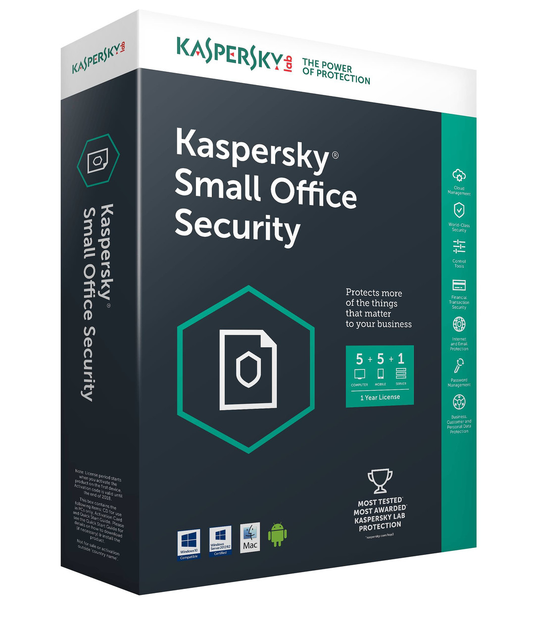 Kaspersky Small Office Security Миграция (Cross-grade) 1 год