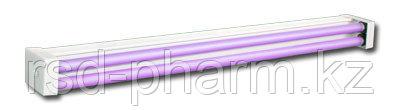 Облучатели бактерицидные настенно-потолочные ОБНП 2х30-01 с лампами, фото 2