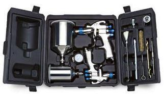 Комплект краскораспылителей SLG-650 в чемодане DeVilbiss