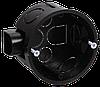 Коробка установочная КМ40002 d65x40мм для твердых стен (с саморезами) IEK
