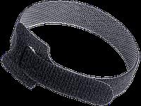 Хомут-липучка ХКл 14х310мм черный (100шт) IEK