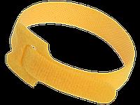 Хомут-липучка ХКл 14х310мм желтый (100шт) IEK