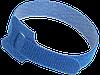 Хомут-липучка ХКл 14х310мм синий (100шт) IEK