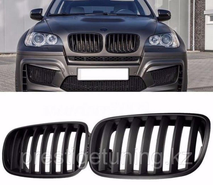 Решетки радиатора (ноздри) на BMW X5 E70/ BMW X6 E71 2007-2014 г.в