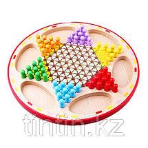 Настольная игра 2 в 1 - Китайские Шашки и Летающие шахматы (Лудо), фото 2