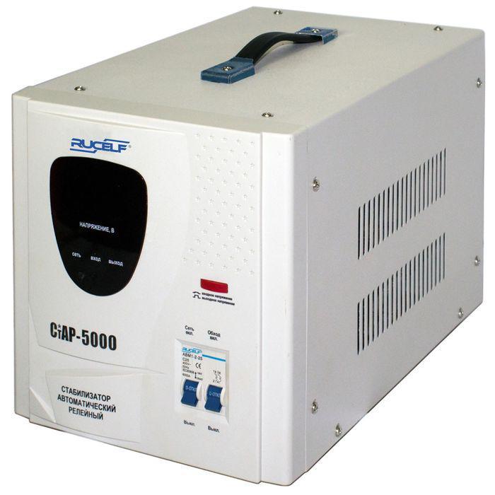 Стабилизатор электронный стац. СНР 5 кВА 1Ф СтАР-5000