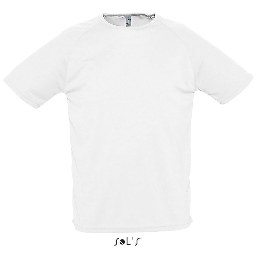 Футболка Dry Fit | Sols Sporty L белый