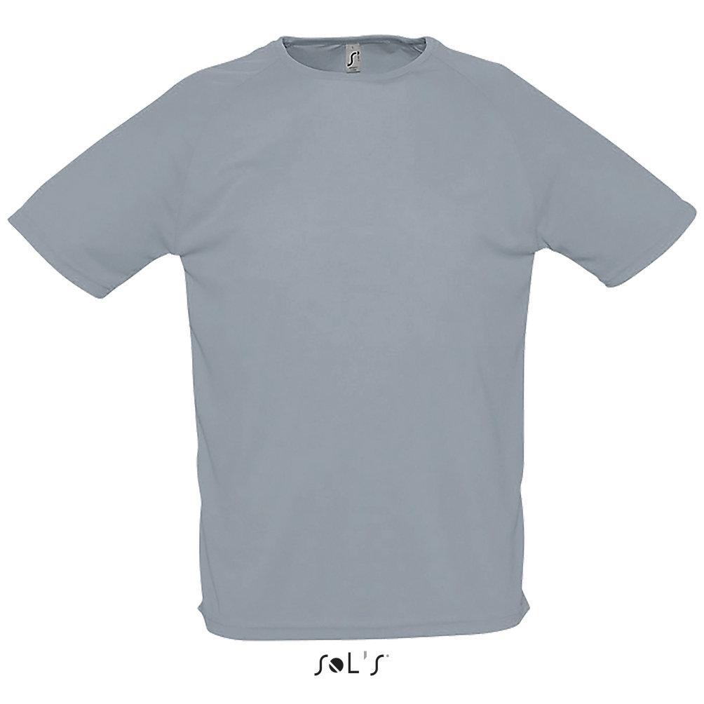 Футболка Dry Fit | Sols Sporty S серый