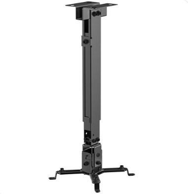 Кронштейн потолочный BRATECK PRB-2G, до 20 кг., 43-65 см.