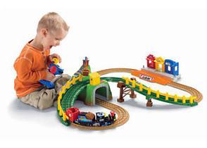 Детские железные дороги с паровозиком Томасом