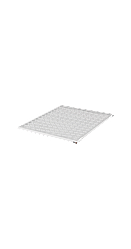 Полка стационарная TLK, для шкафа Г800мм, GY, шт
