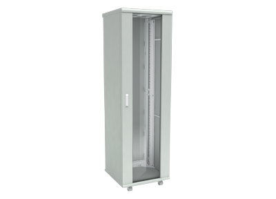 Шкаф телекоммуникационный напольный 27U 600x800мм, серия TFC (SNR-TFC-276080-GS-G)
