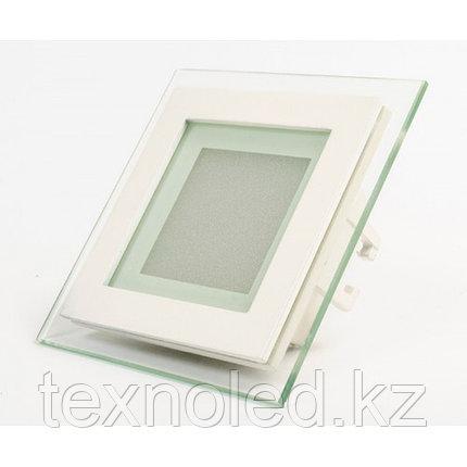 Потолочный светильник квадратный  6W  (со стеклом), фото 2