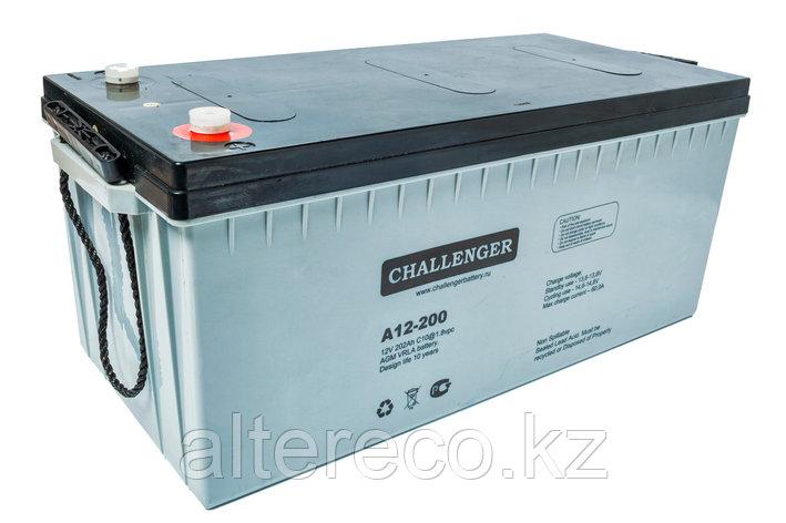 Аккумулятор Challenger A12-200 (12В, 200Ач), фото 2