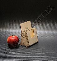 Буклетница А6 деревянная, фото 1