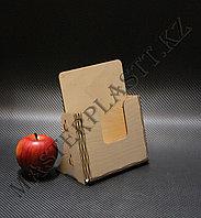 Буклетница А5 деревянная, фото 1