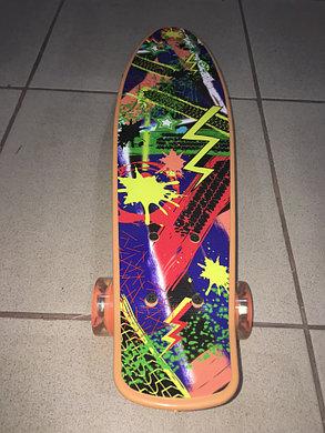 Пенни Борд (Penny Board)с ярким дизайном (пластборд), фото 2