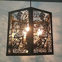"""Ажурная люстра на 3 лампочки """"Лофт"""", фото 1"""