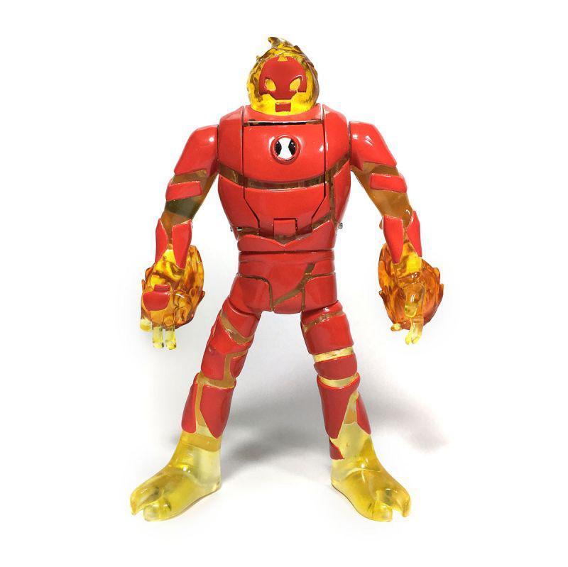 Ben 10 Фигурка-трансформер 17 см Бен 10 - Человек-Огонь - Бен