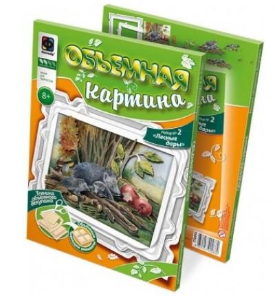 """Фантазёр 956022 Живая картина """"Лесные дары"""""""