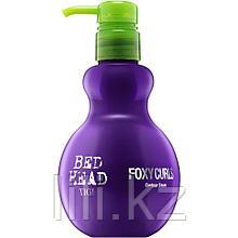 Дефинирующий крем для вьющихся волос и защиты от влаги - Tigi Bed head foxy curls contour cream 200 мл.