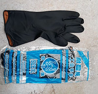 Резиновые перчатки монтажные длинные