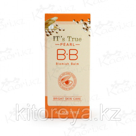 Cellio it's true pearl oil blemish balm - Тональный bb крем с жемчугом