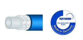 Шланг для пищевой промышленности PUReClean365+® 40, синий