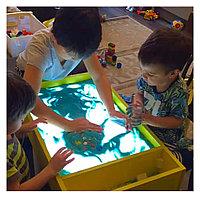 Световой планшет для рисования песком 75:44:15см.