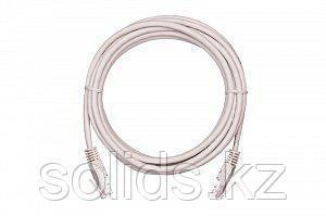 Шнур UTP 4 пары Кат.5e  медный PVC, серый, 0,5м, 10шт., упак