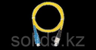 Патч-корд переходной SC/UPC-FC/UPC одинарный, LSZH, 2мм, 1м