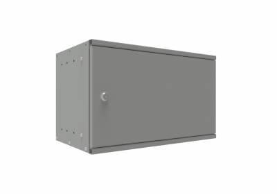 Шкаф телекоммуникационный настенный 6U, 315х520х600 мм (дверь металлическая)
