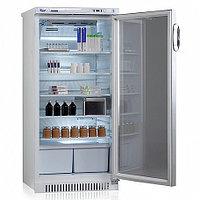 """Холодильник фармацевтический V=250л, ХФ-250-3 (+2...+14, 607х600х1300мм) со стекл. дверью и замком """"ПОЗИС"""""""