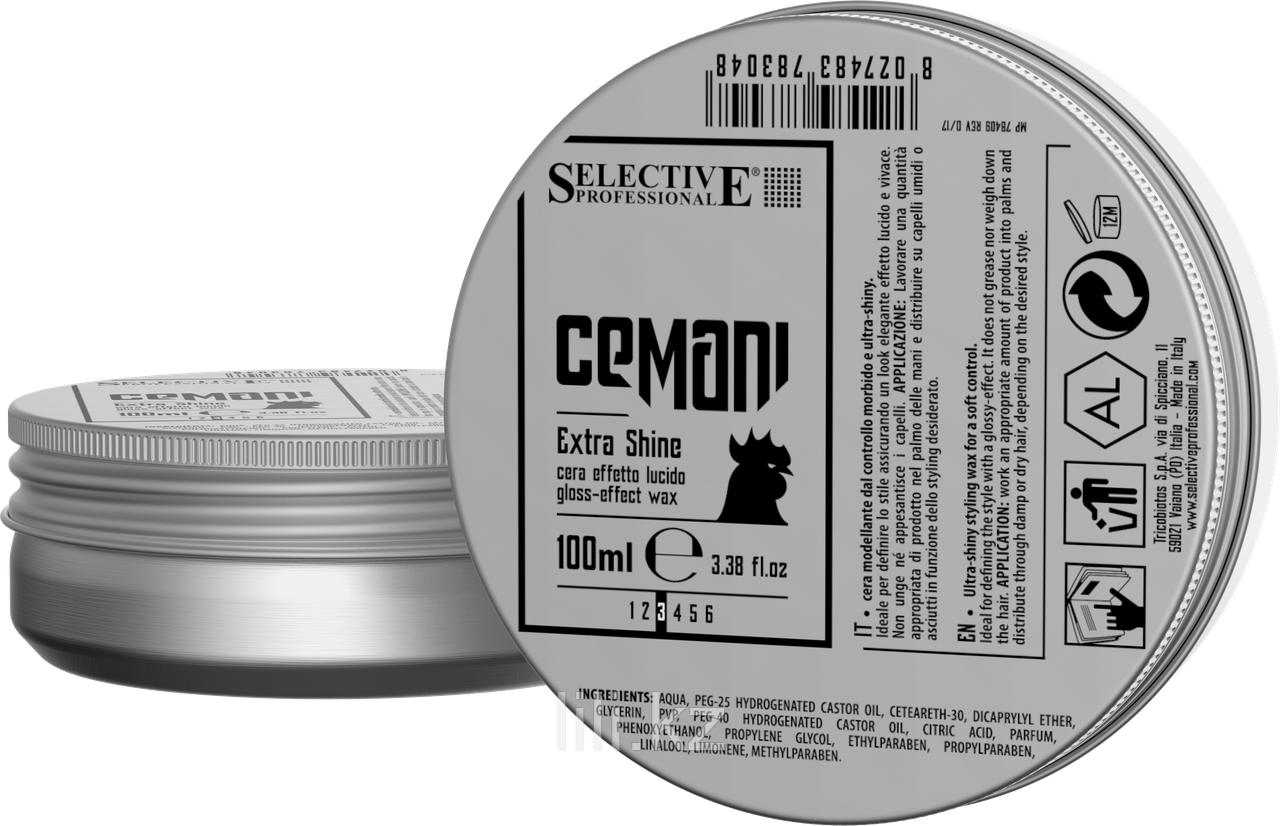 Воск матовый моделирующий Selective Professional Cemani Matt molder + 100 мл.