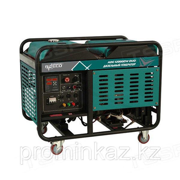 Дизельный генератор ALTECO ADG 12000 EW DUO 10 кВт/12кВа, 380/220В