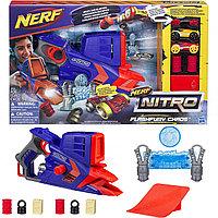 Бластер NERF Nitro «ФЛЕШФЬЮРИ» Flashfury Chaos, фото 1
