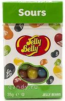 Jelly Belly sours кислые фрукты 35гр  х 24шт (карт.пачка)