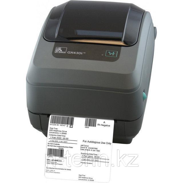Термотрансферный принтер этикеток Zebra GX430t