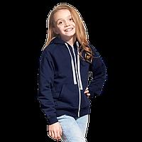 Облегченная детская толстовка , StanCoolJunior, 61J, Тёмно-синий (46), 8 лет