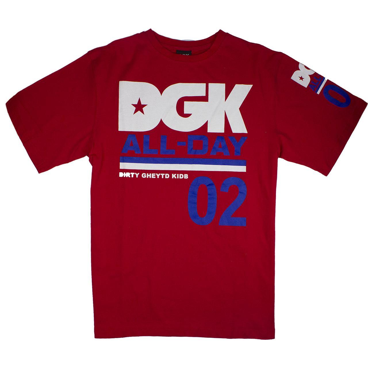 Футболка DGK красная