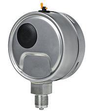 Тягонапоромер, напоромер коррозионностойкий ТНМПф Кс, НМПф Кс д.100 мм, фото 2