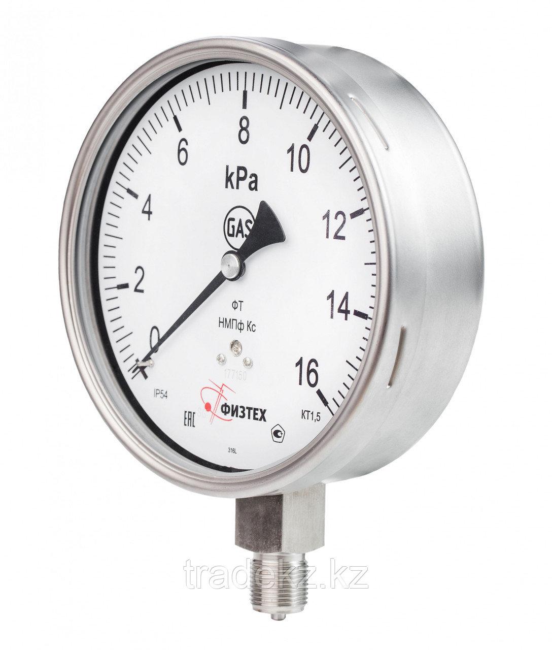 Тягонапоромер, напоромер коррозионностойкий ТНМПф Кс, НМПф Кс д.160 мм