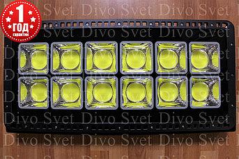 """Прожектор светодиодный COB7070 600 W """"Стандарт"""" серия, бюджетная. LED светильник 600 Вт. Прожекторы освещения."""