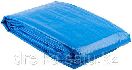 """Тент-полотно ЗУБР """"ЭКСПЕРТ"""" универс. трехслойный,из тканого полимера высокой плотности 120 г/м3,с люверсами, фото 2"""