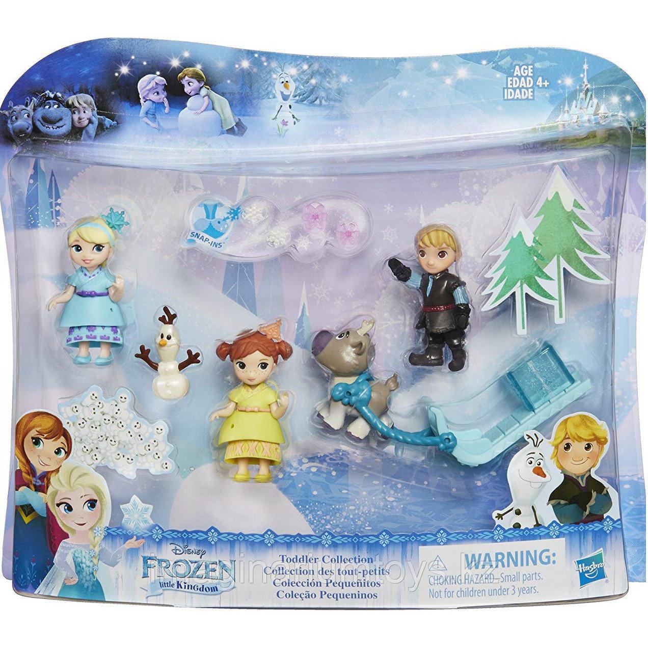 Игровой набор герои м/ф «Холодное сердце» Hasbro