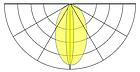 Трехточечный (3014) для торцевой подсветки с алюминиевым теплоотводом 1.32W (IP67) Белый, фото 3